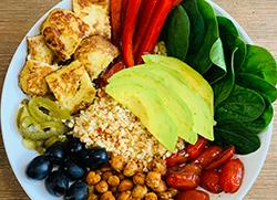 veg salad bowl